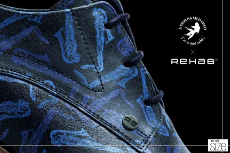 Rehab Footwear En A Fish Named Fred Slaan De Handen Ineen