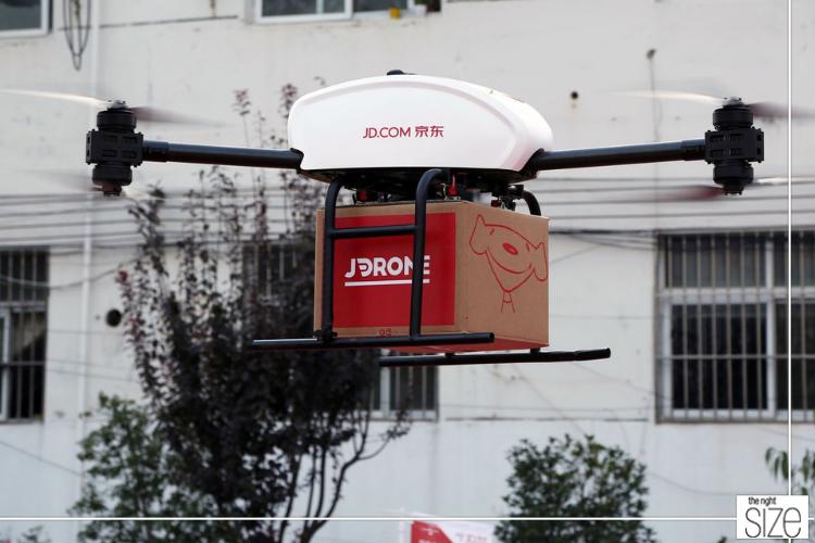 Het Chinese Bedrijf JD.com Streeft Naar Volautomatische Logistiek
