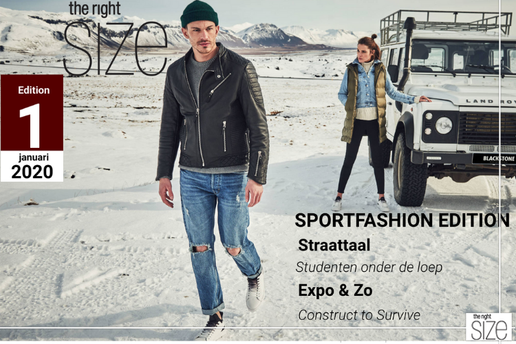 The Right SIZE Editie 1 Is Uit! Sportfashion Edition
