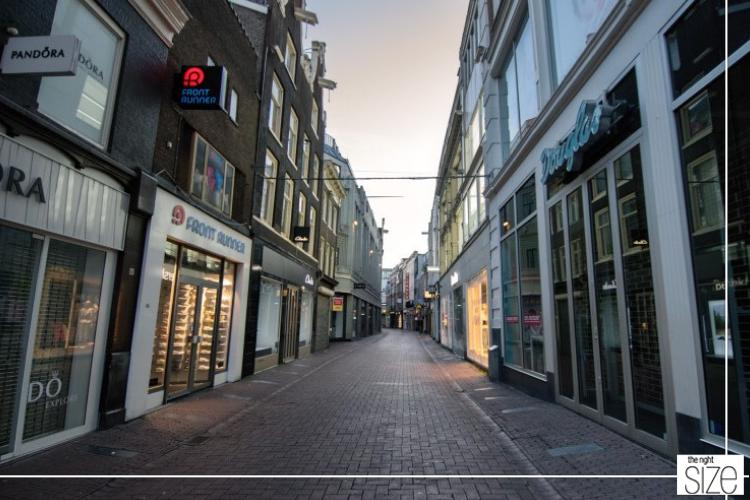 Nederlandse Winkelstraten Lopen Leeg Door Coronacrisis